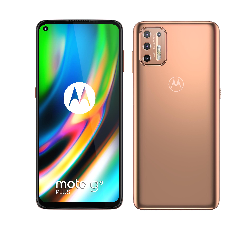 Motorola Moto G9 Plus Blush Gold