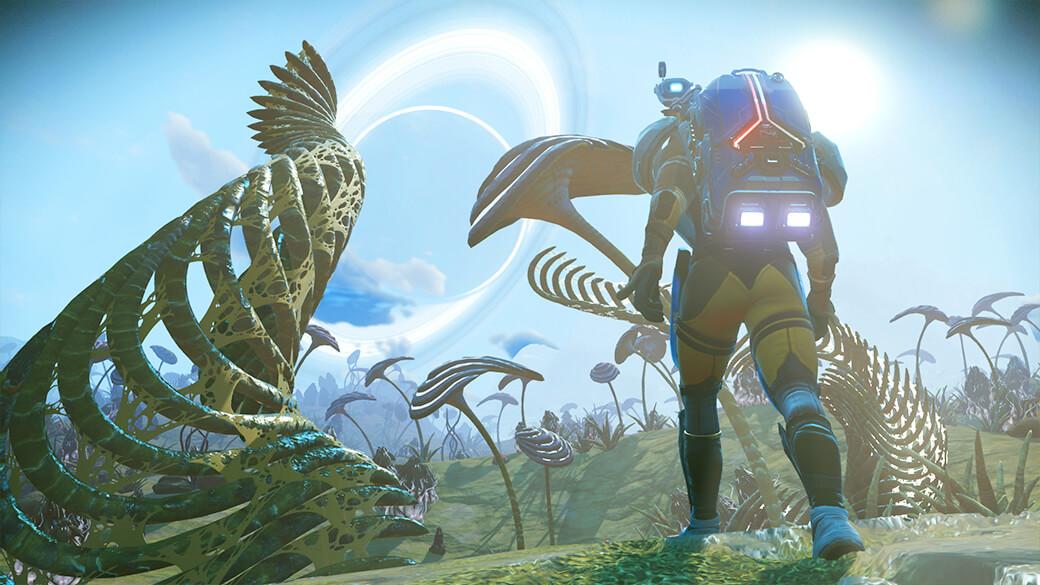 No Man's Sky z nową aktualizacją Origins staje się poniekąd dwa razy większe