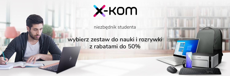 promocja x-kom dla studentów