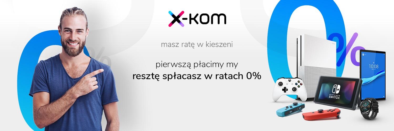 promocja x-kom raty 0 procent
