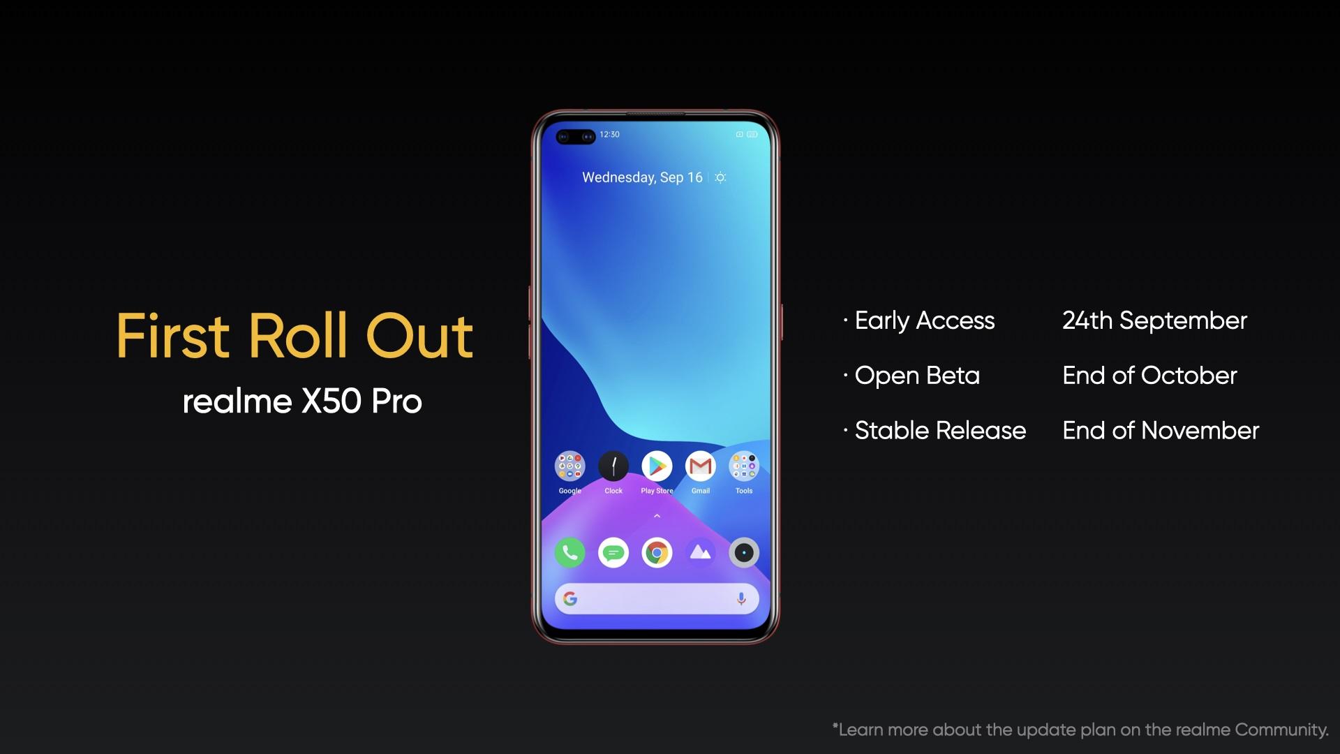 realme UI 2.0 Android 11 beta