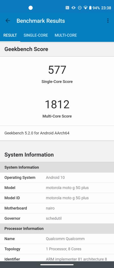 Recenzja Moto G 5G Plus - co poza 5G? 46 moto g 5g plus