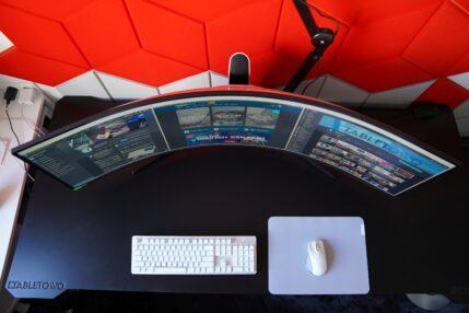Samsung Odyssey G9 - jeszcze bardziej zakrzywiony monitor to jeszcze więcej frajdy (recenzja) 21 Samsung Odyssey G9