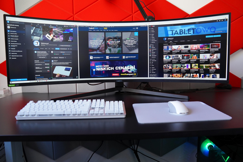 Samsung Odyssey G9 - jeszcze bardziej zakrzywiony monitor to jeszcze więcej frajdy (recenzja)