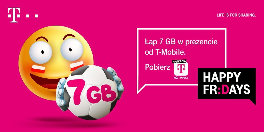 Lewandowski rozdaje pakiety internetu w T-Mobile. Dostaniesz 7 GB, za darmo
