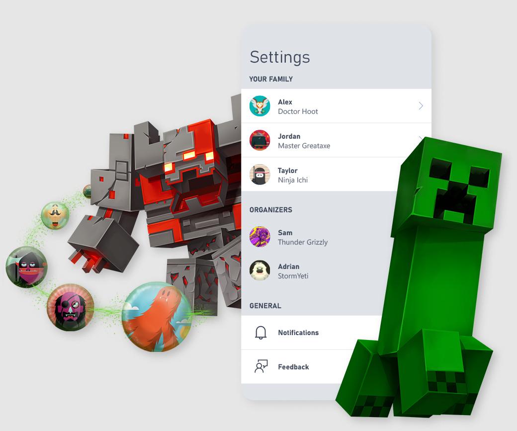 Xbox Family Settings