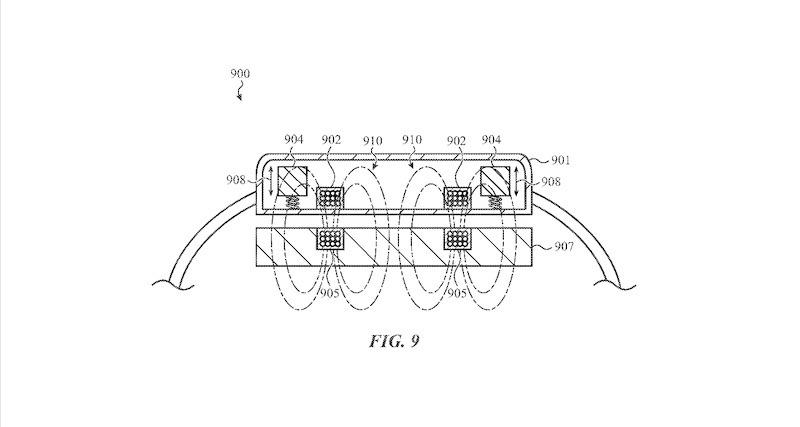 Apple Watch – patent cewki ładującej.