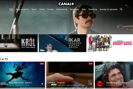 CANAL+ telewizja przez internet