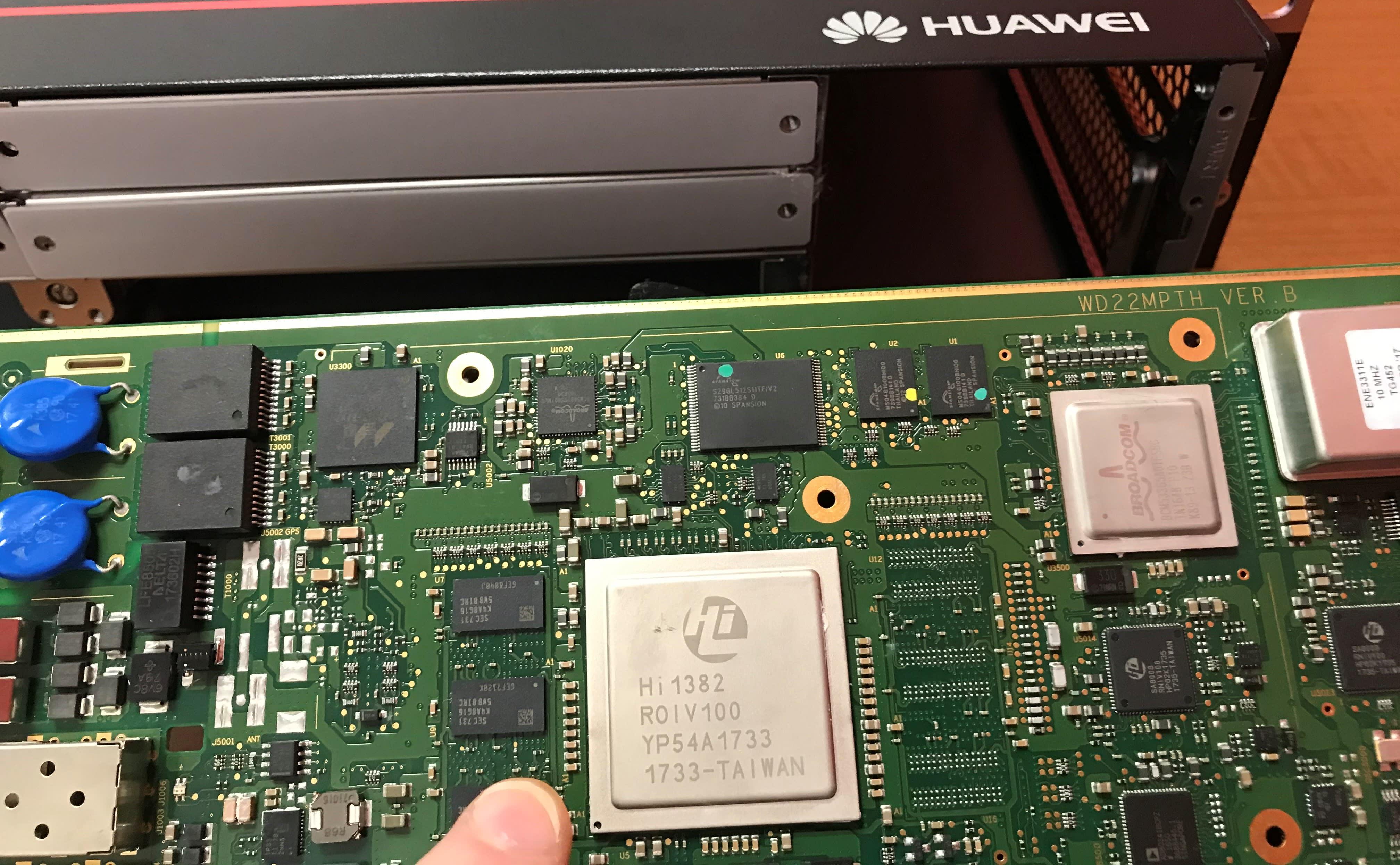Huawei stacja bazowa 5G teardown