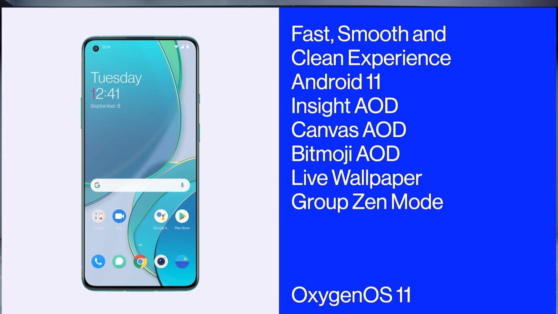 smartfon OnePlus 8T OxygenOS 11 smartphone