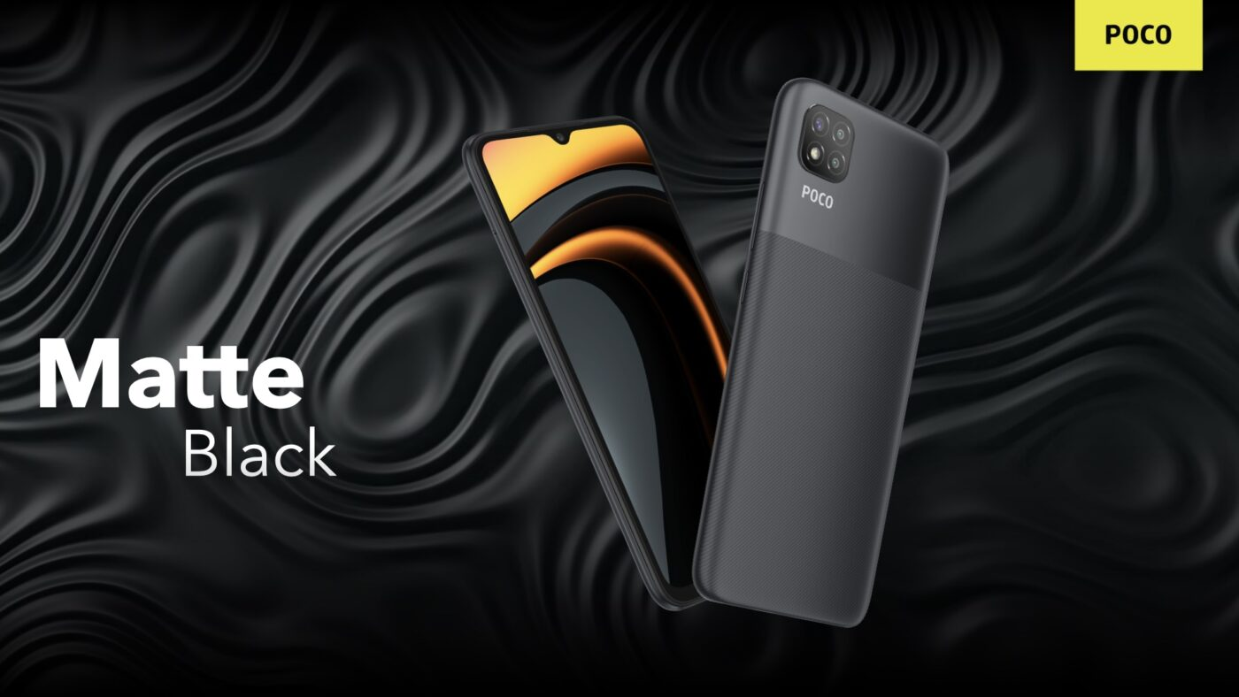 smartfon POCO C3 smartphone