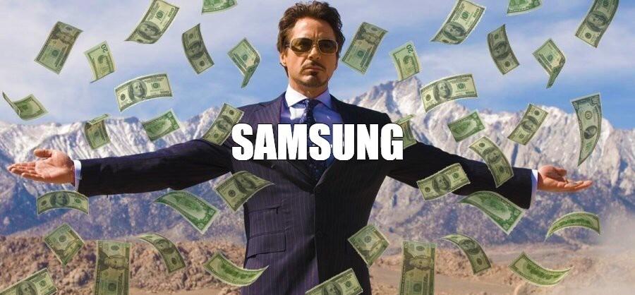 Samsung zarabia fortunę. Jeszcze nigdy nie było tak dobrego kwartału