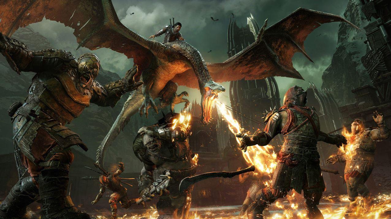 Śródziemie Cień Wojny PlayStation Plus Listopad