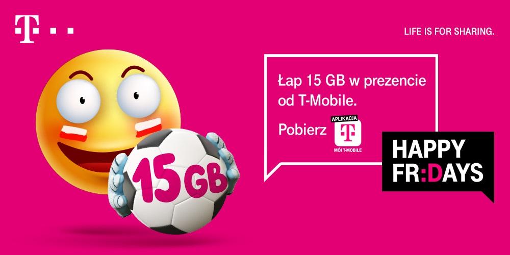 T-Mobile internet za darmo 15 GB