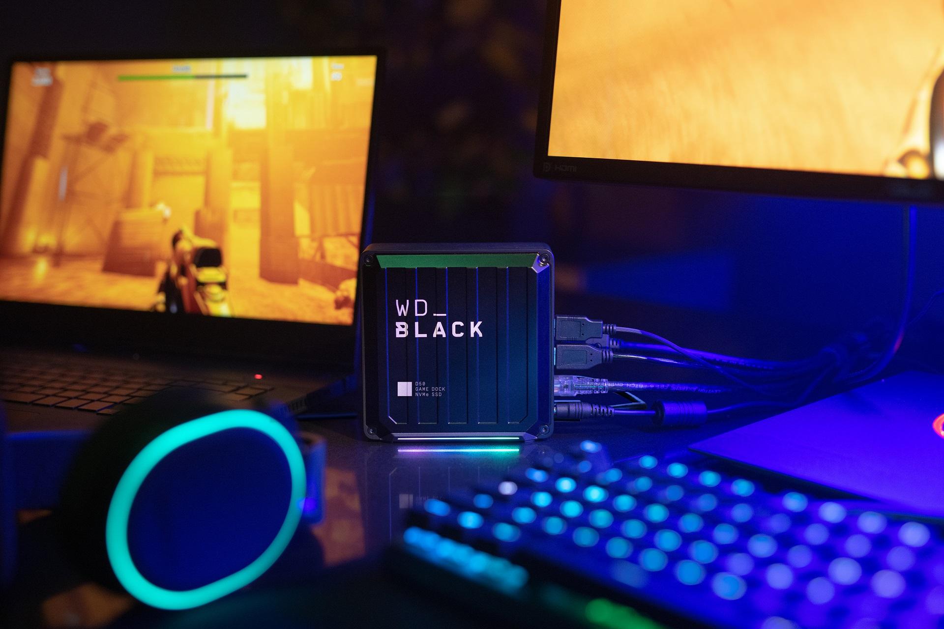 Nowe produkty z serii WD_Black  stworzone z myślą o graczach