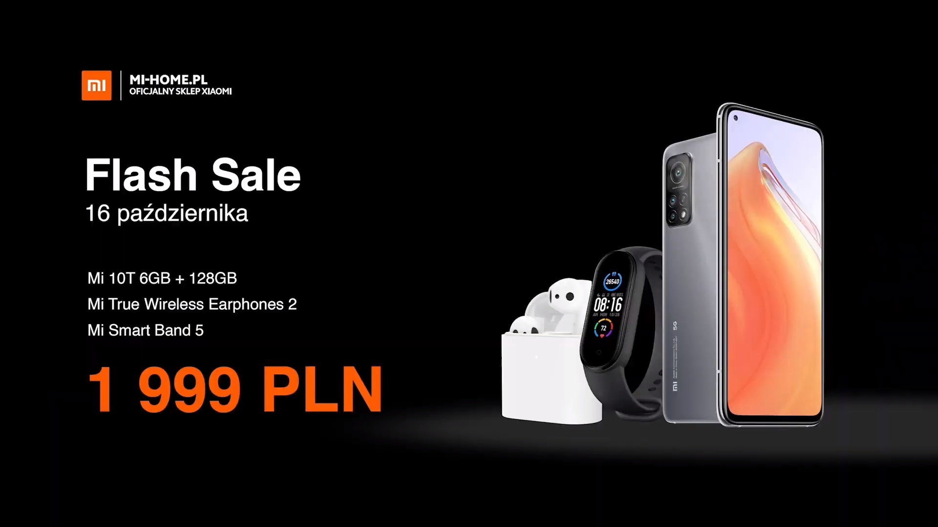 smartfon Xiaomi Mi 10T samrtphone Flash Sale