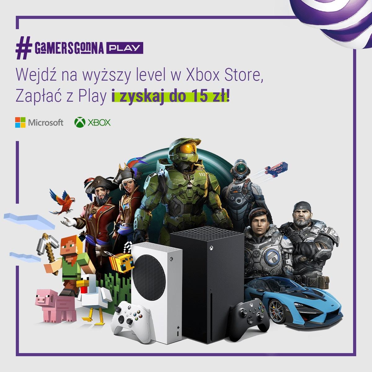 promocja Zapłać z Play Xbox Store
