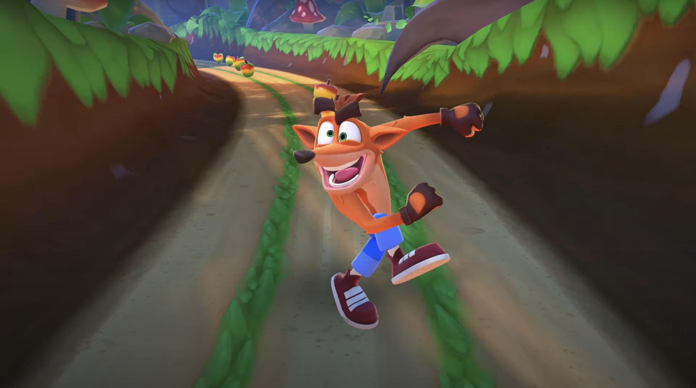 Crash Bandicoot: On the Run! zapowiedziany na wiosnę 2021 roku