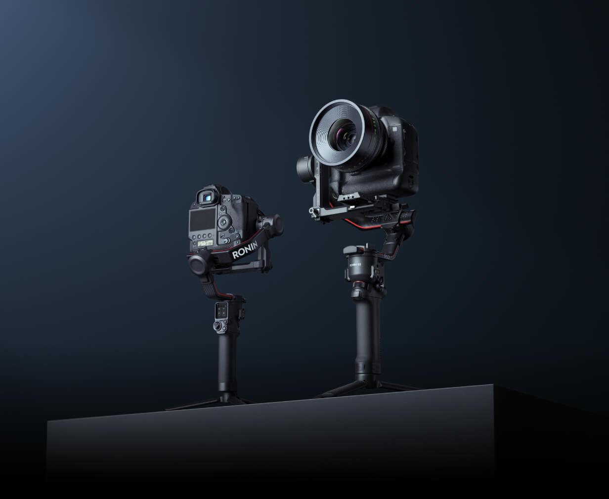 Przywitajcie dwa nowe gimbale DJI - RS 2 oraz RSC 2. Już można je zamawiać