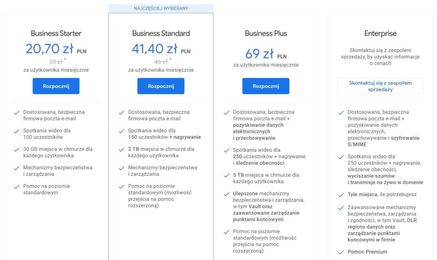 G Suite przemienia się w Google Workspace. Jeden pakiet aplikacji, by wszystkimi rządzić 23 Google Workspace