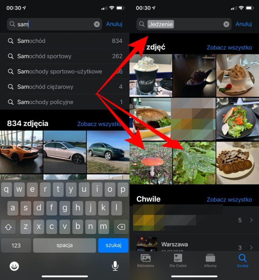 Aplikacja Apple Zdjęcia.