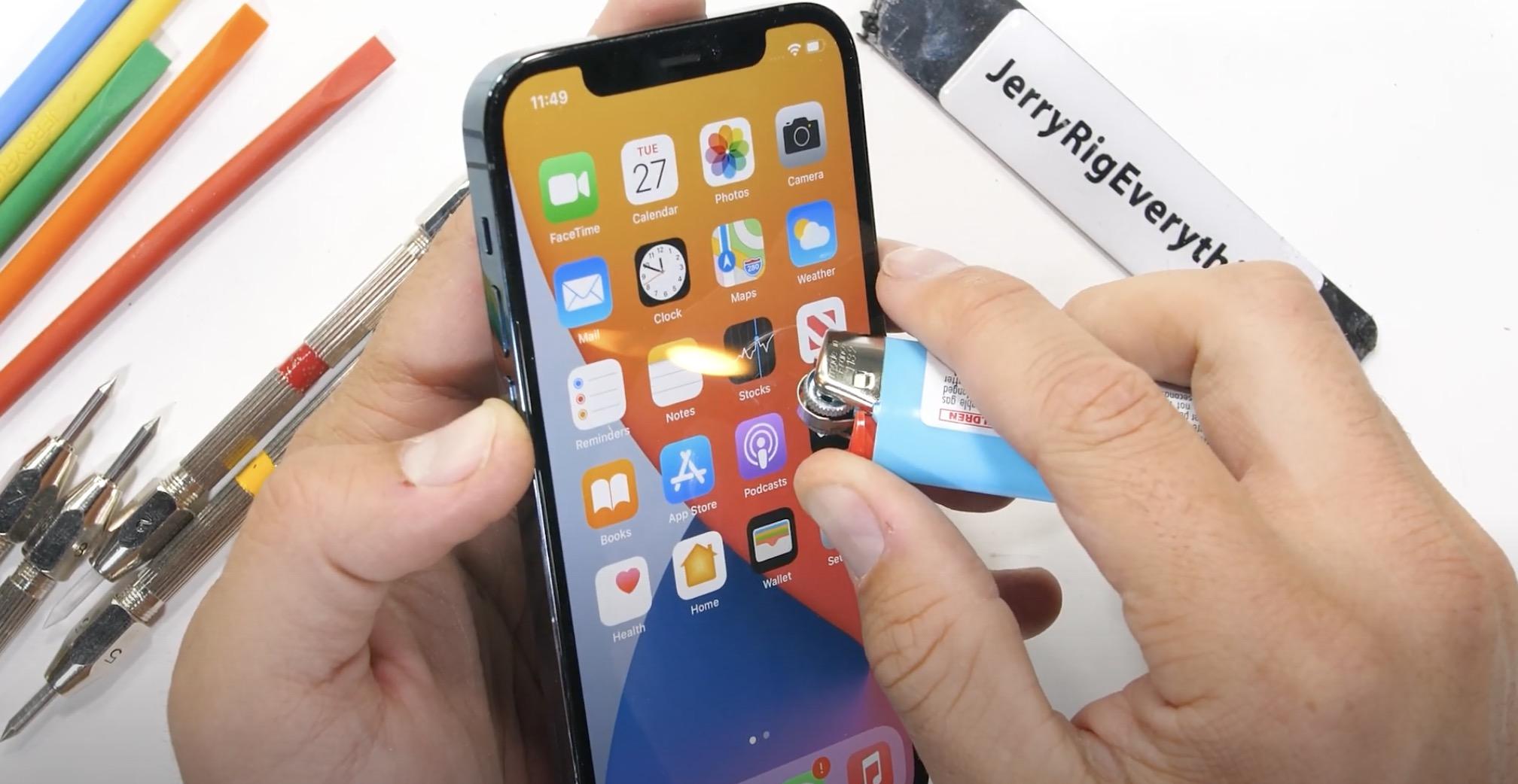 iPhone 12 Pro odporność