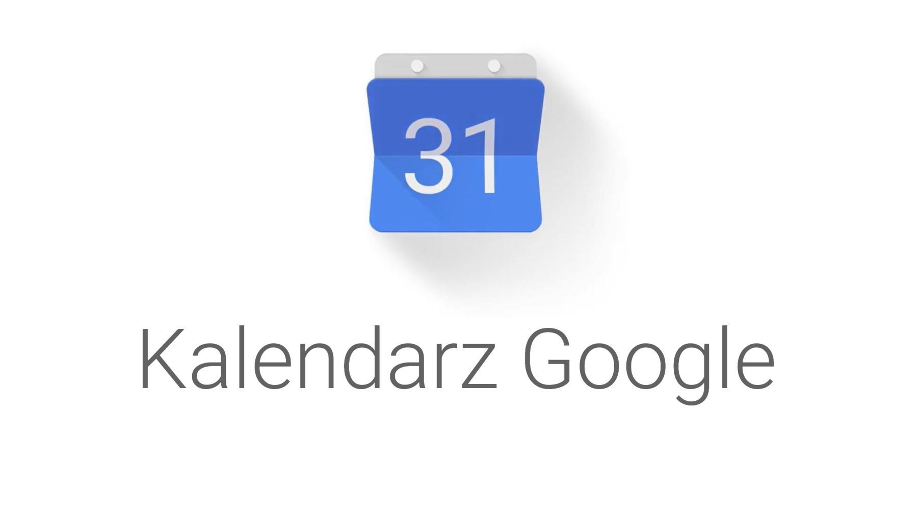 Kalendarz Google w przeglądarce zyskuje boczny pasek z Mapami Google