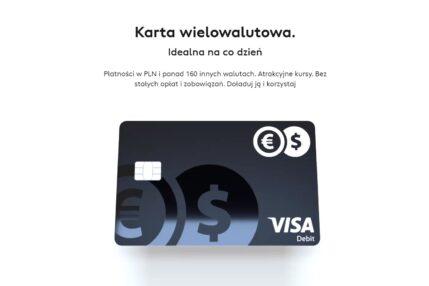 Cinkciarz karta wielowalutowa