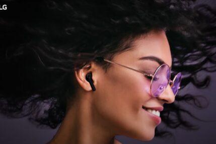 LG ma nowe słuchawki z ANC. Etui LG TONE Free zabija bakterie