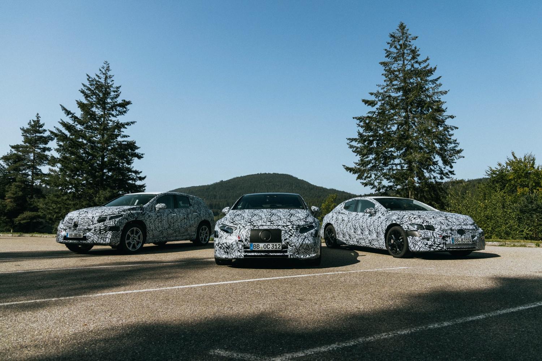Mercedes zapowiada luksusowego EQS i inne samochody elektryczne 17 Mercedes