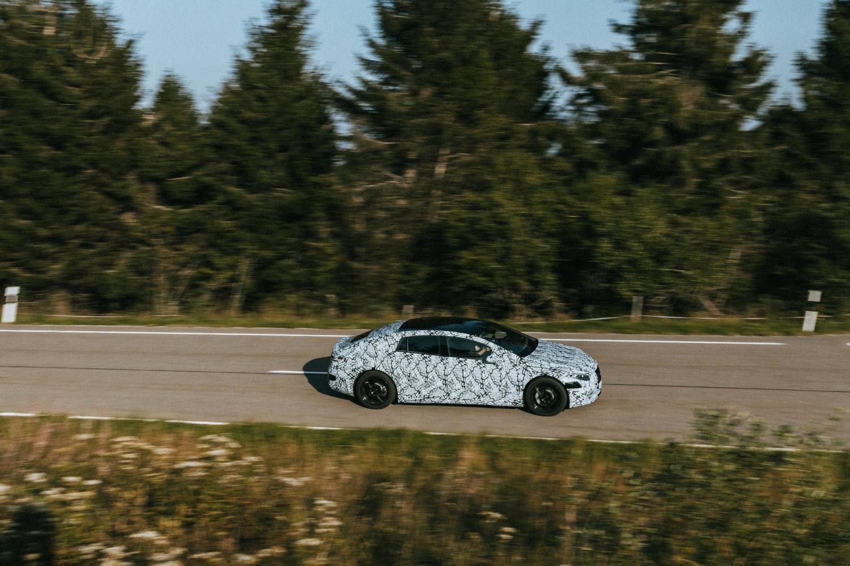 Mercedes EQ – testy.