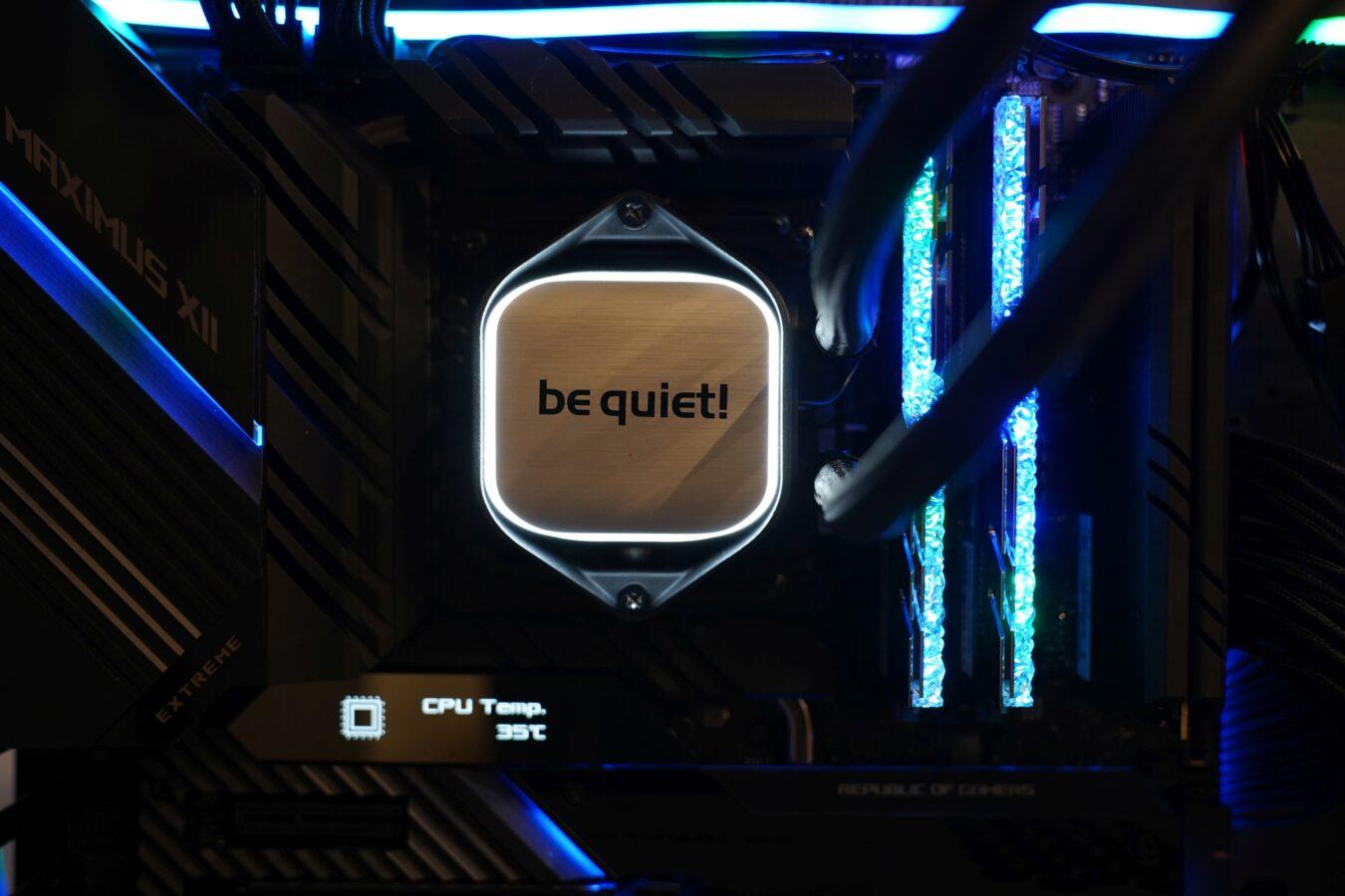be quiet! Pure Loop 280 mm - recenzja genialnego chłodzenia