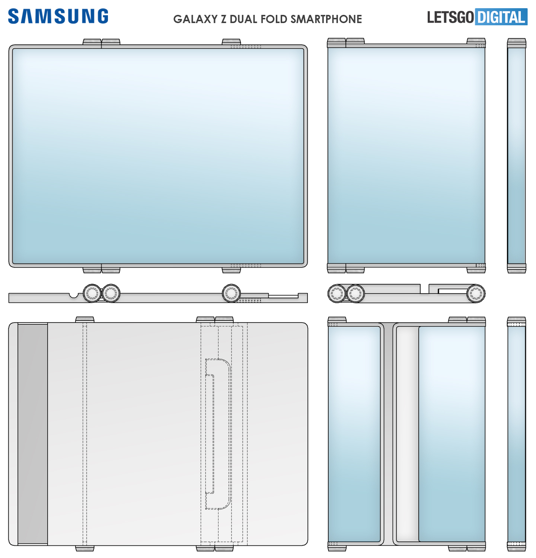 Samsung Dual Fold - patent