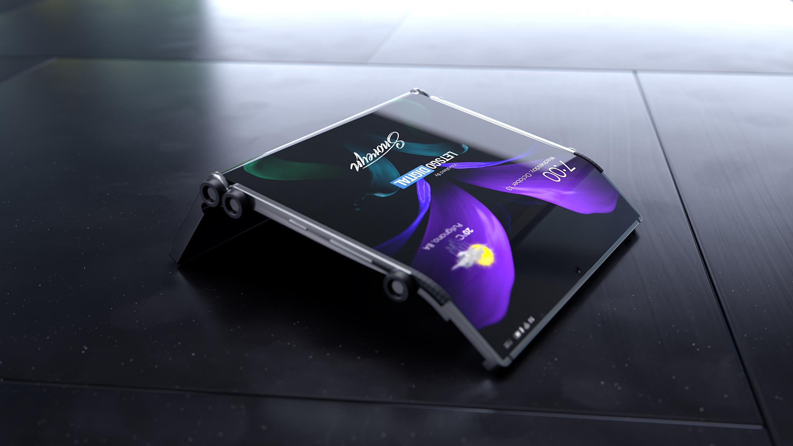 Samsung ma odważną wizję składanego smartfona. To może się (nie) udać 18 Samsung