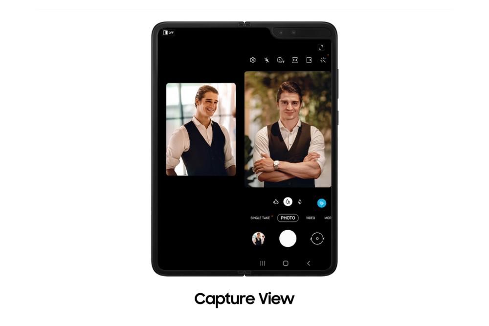 Samsung Galaxy Fold Capture View