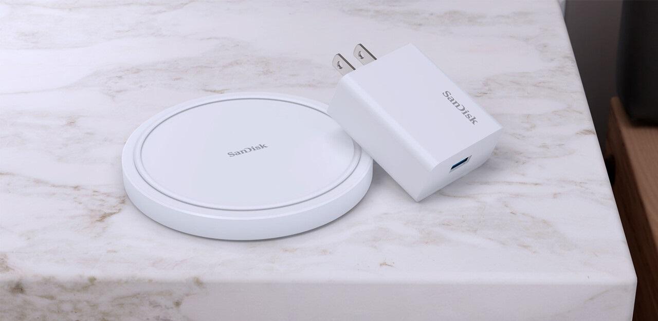 Ładowarka bezprzewodowa połączona z dyskiem SanDisk? Proszę bardzo