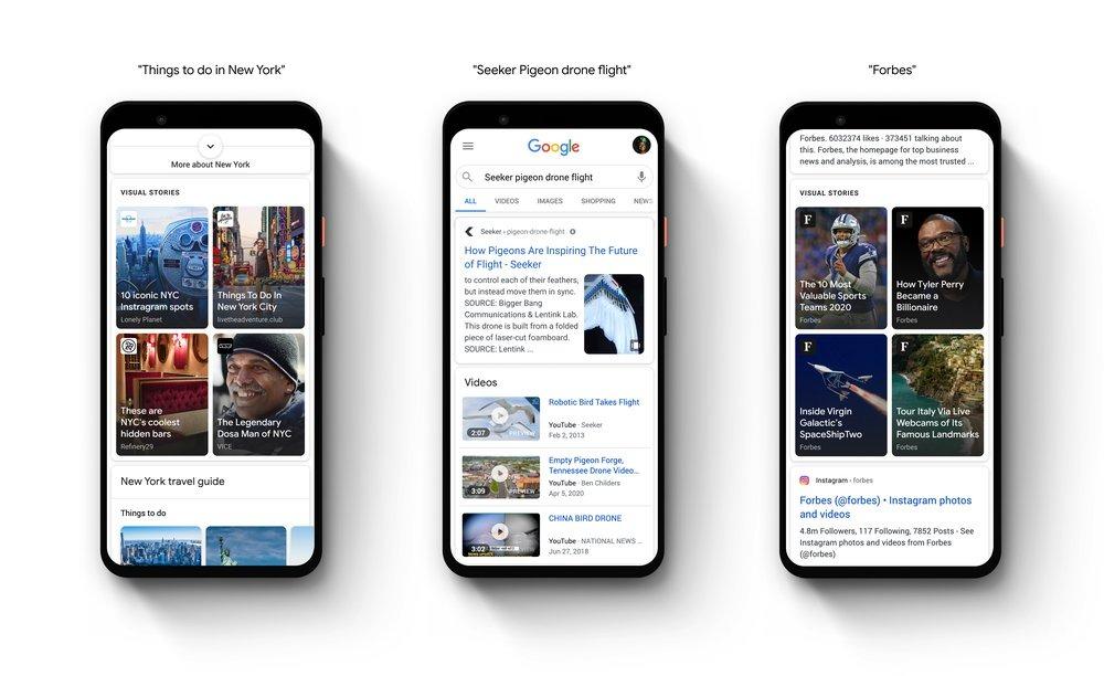Google wprowadza Web Stories do własnej aplikacji. Dobrze czy niedobrze? 19 Google