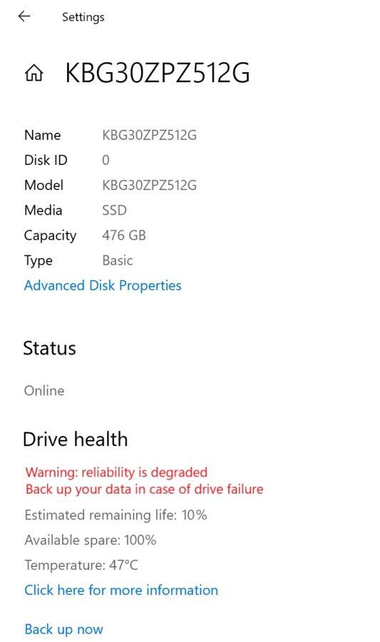 Windows 10 pozwoli nam na kontrolę dysków NVMe w naszym komputerze