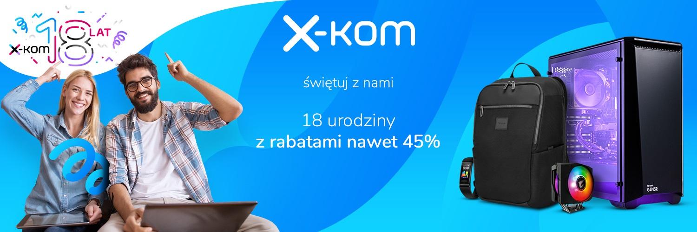 x-kom promocja urodziny