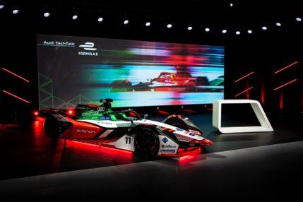 Audi e-tron FE07 – oto nowy, w pełni elektryczny bolid Formuły E