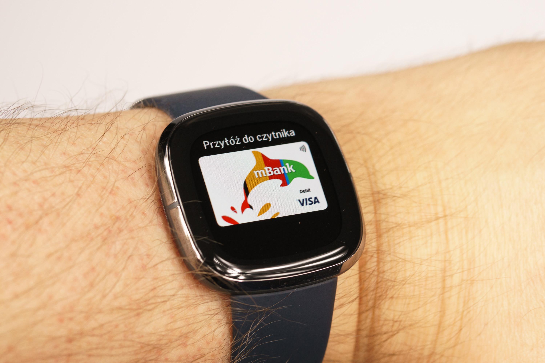 Fitbit Sense Fitbit Pay mbank