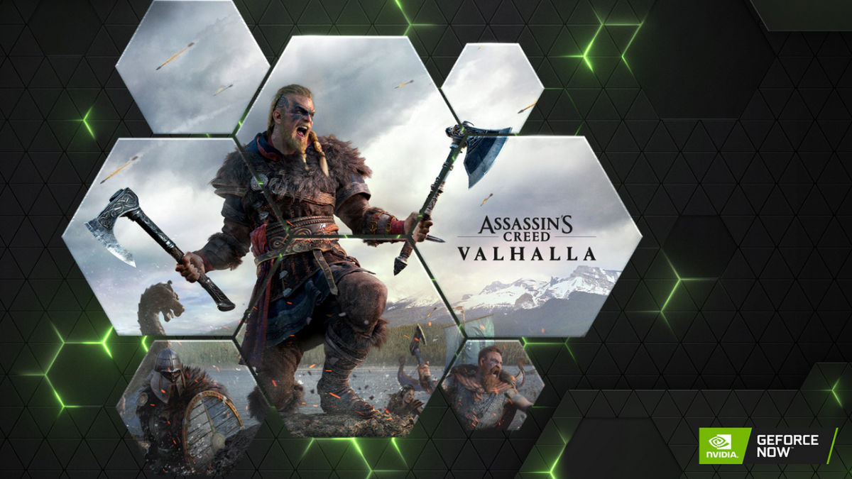 GeForce Now Assassins Creed Valhalla