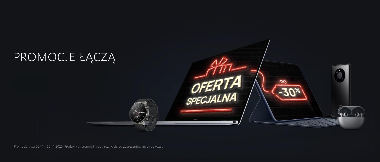 Huawei promocja listopad 2020