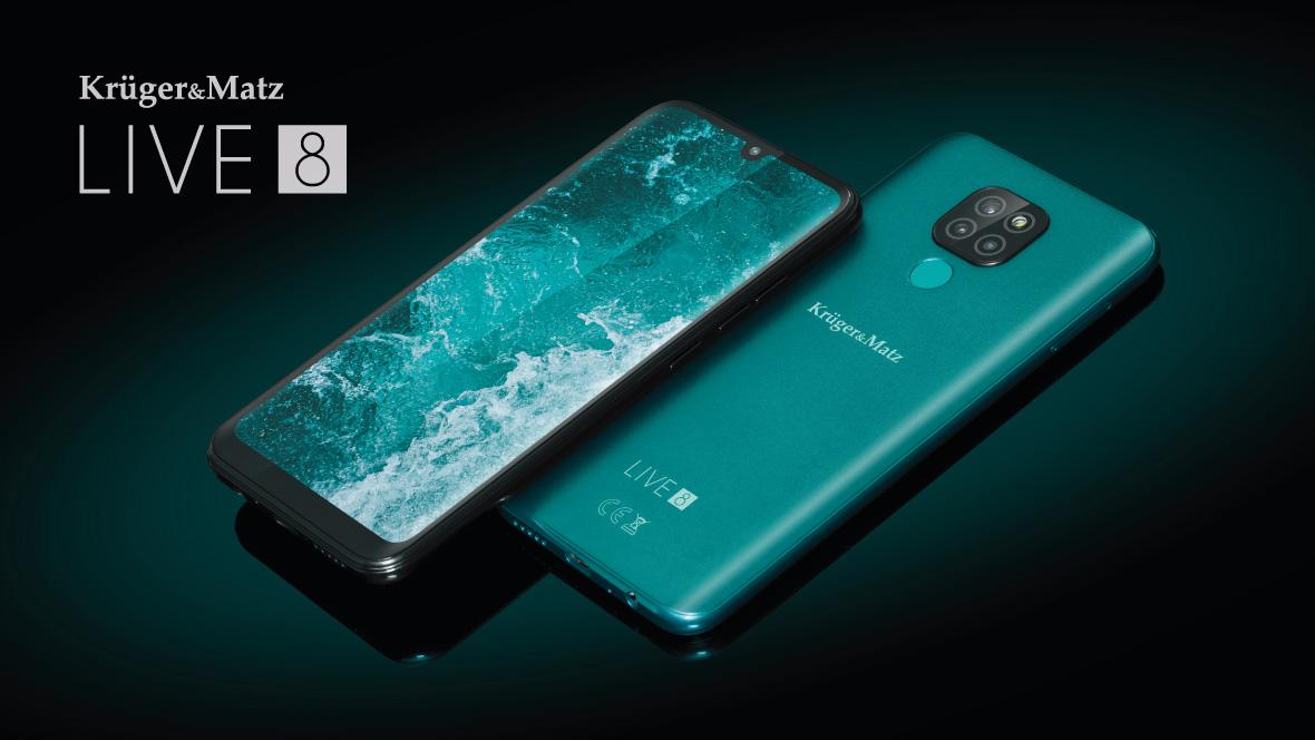 smartfon Kruger&Matz Live 8 smartphone
