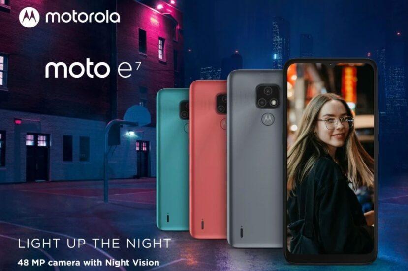 Tania Motka z podwójnym aparatem i niezłą baterią. Oto nowa Motorola Moto E7