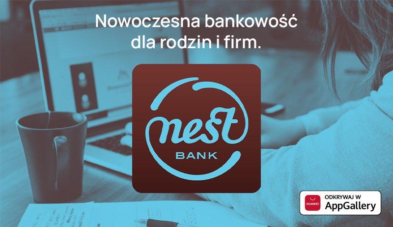 Nest Bank aplikacja Huawei AppGallery
