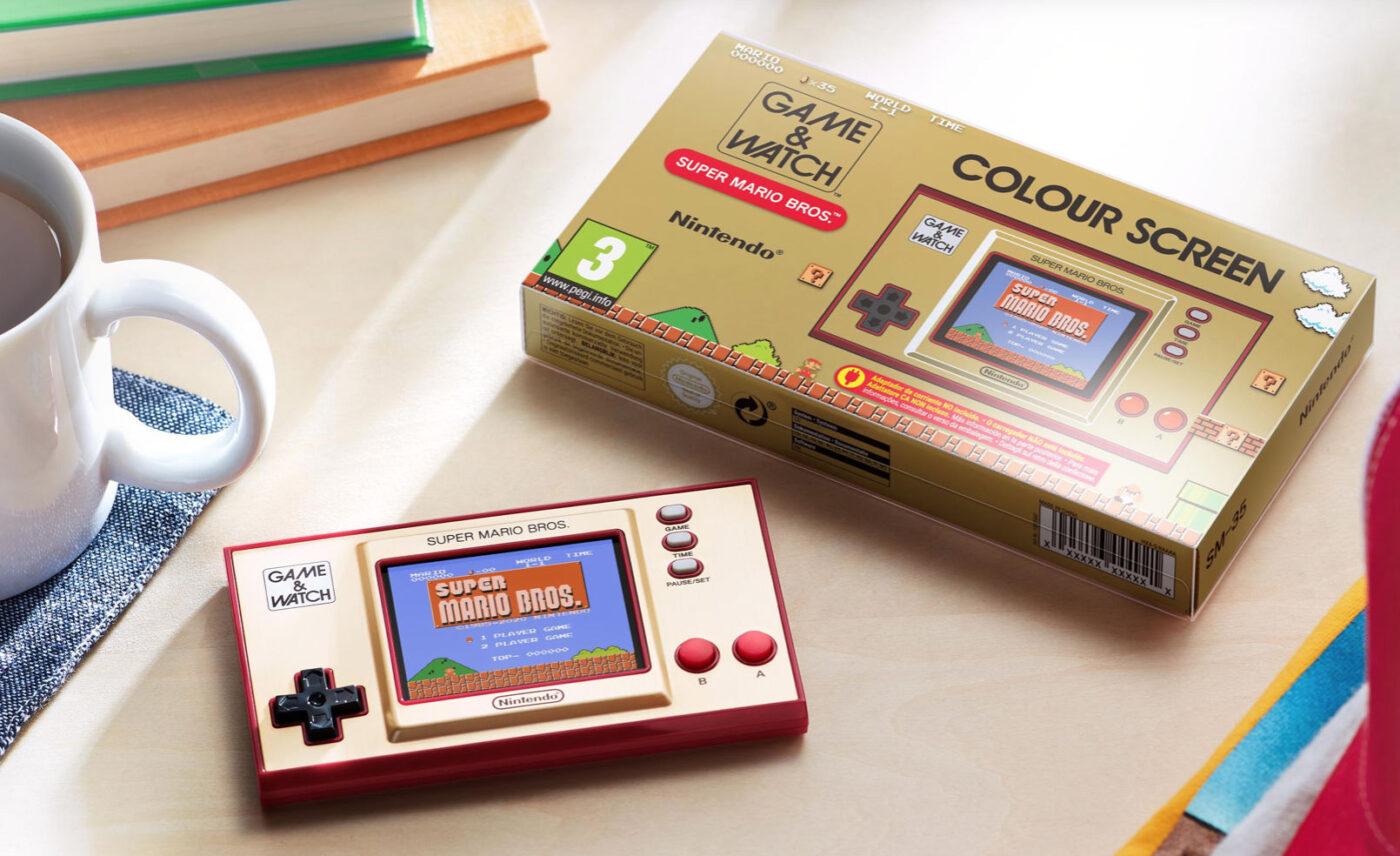 Jubileuszowa konsola Nintendo Game & Watch: Super Mario Bros już dostępna w Polsce!