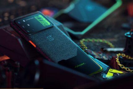 smartfon OnePlus 8T Cyberpunk 2077 Limited Edition smartphone