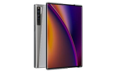 rozwijany smartfon Oppo X 2021 rollable smartphone