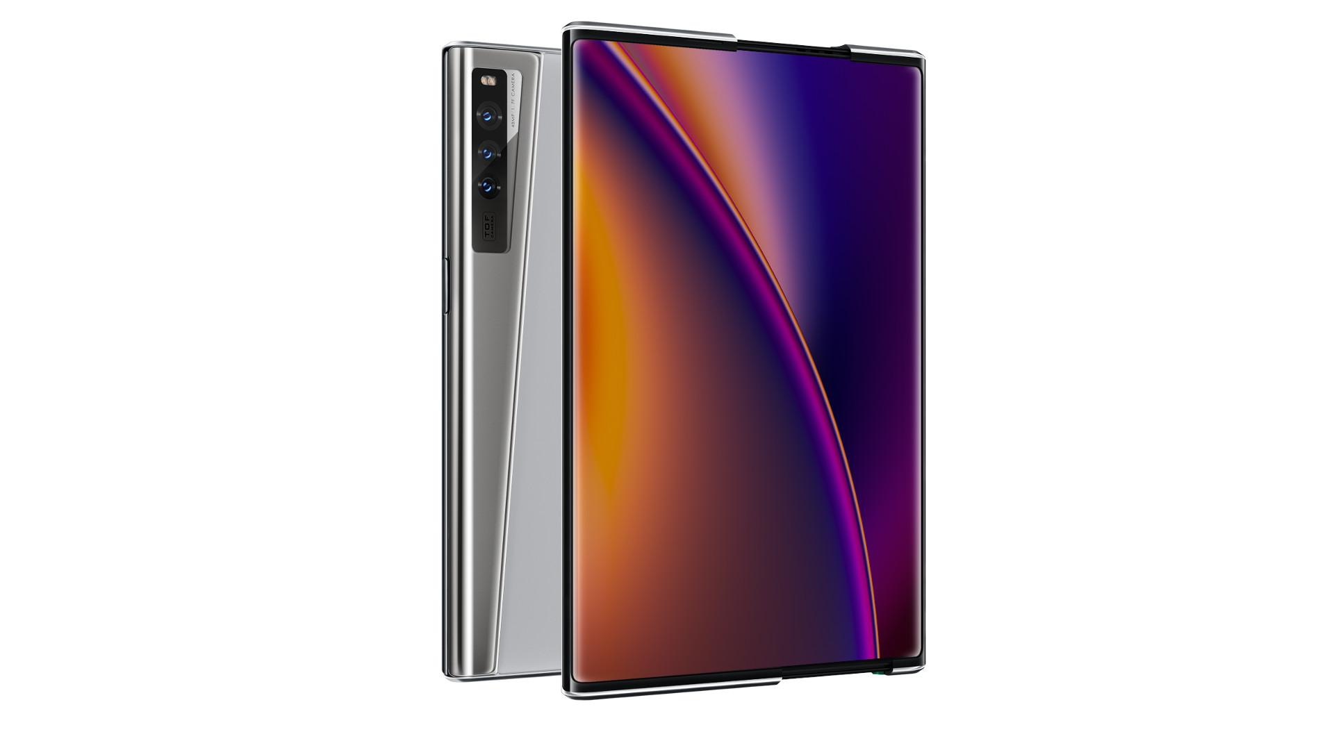 rozwijany smartfon Oppo X 2021 rollable smartphone  pixel roll